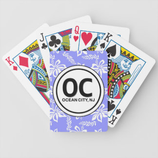 OC Ocean City NJ Playing Cards