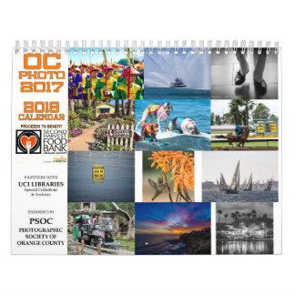 OC Photo 2017 Calendar for 2018