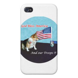 OC por la bandera iPhone 4 Fundas