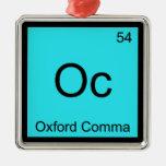 Oc - símbolo de la química de la gramática de la c