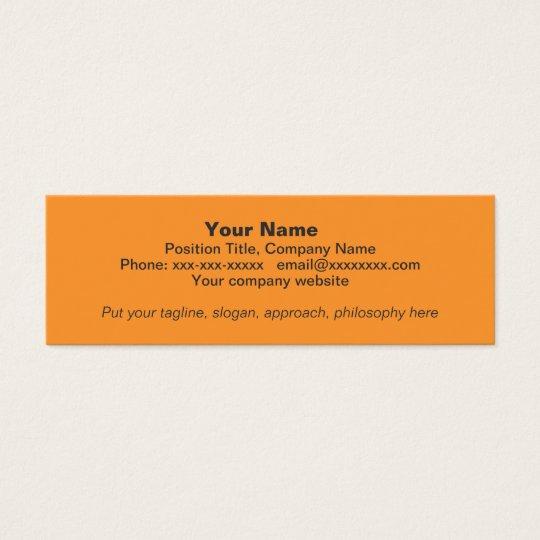 OC Sunset MiniCard Mini Business Card