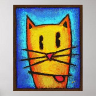 OC The Cat Poster
