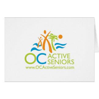 OCActiveSeniors Logo Note Card