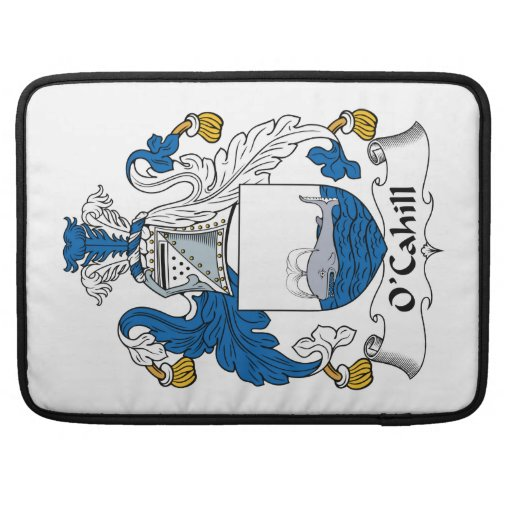 O'Cahill Family Crest MacBook Pro Sleeve