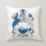 O'Cahill Family Crest Pillow