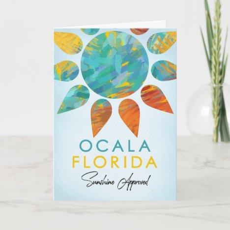 Ocala Florida Sunshine Travel Card