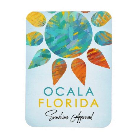 Ocala Florida Sunshine Travel Magnet