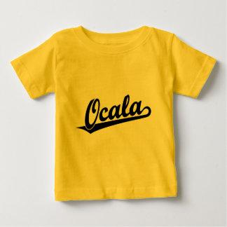 Ocala script logo in black tshirt