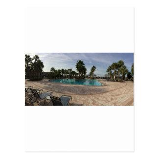 Ocala swimming pool postcard