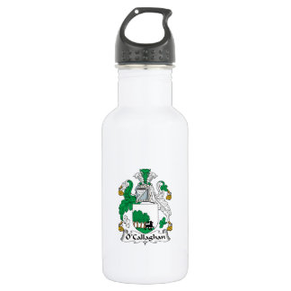 O'Callaghan Family Crest 18oz Water Bottle