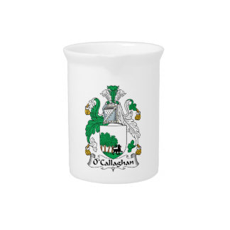 O'Callaghan Family Crest Beverage Pitchers