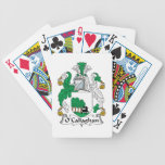 O'Callaghan Family Crest Bicycle Playing Cards