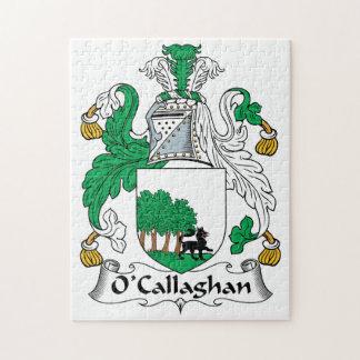 O'Callaghan Family Crest Jigsaw Puzzle