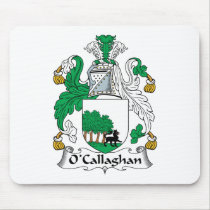 O'Callaghan Family Crest Mousepad
