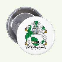 O'Callaghan Family Crest Button