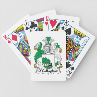 O'Callaghan Family Crest Deck Of Cards