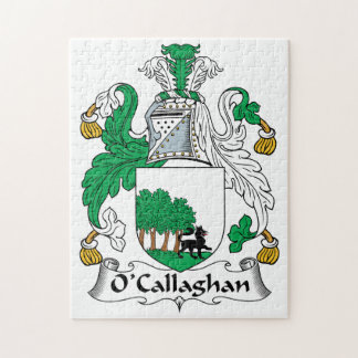 O'Callaghan Family Crest Jigsaw Puzzle