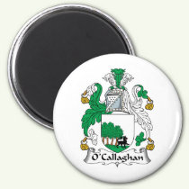 O'Callaghan Family Crest Magnet