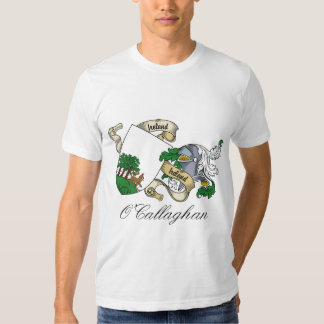 O'Callaghan Family Crest T-shirts