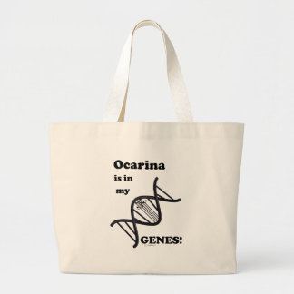 Ocarina Is In My Genes Jumbo Tote Bag
