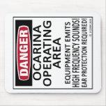 Ocarina Operating Area Mouse Pad