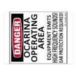 Ocarina Operating Area Postcard
