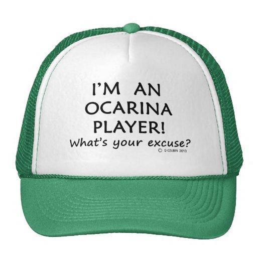 Ocarina Player Excuse Trucker Hat