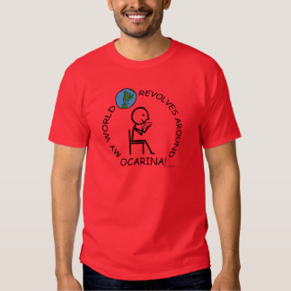 Ocarina - World Revolves Around T-Shirt