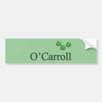 O'Carroll Family Bumper Sticker