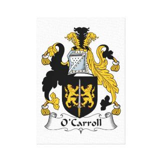 O'Carroll Family Crest Canvas Print
