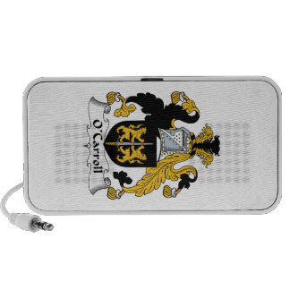 O'Carroll Family Crest iPod Speakers