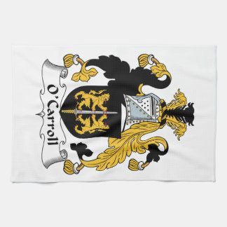 O'Carroll Family Crest Kitchen Towel