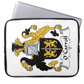 O'Carroll Family Crest Laptop Computer Sleeve