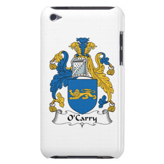O'Carry Family Crest Case-Mate iPod Touch Case