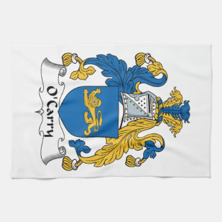 O'Carry Family Crest Hand Towels