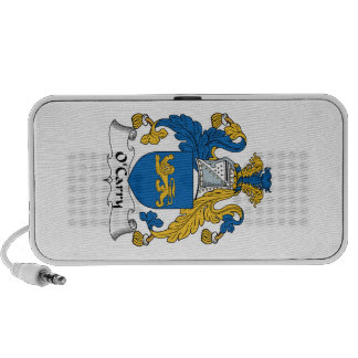 O'Carry Family Crest Mp3 Speakers