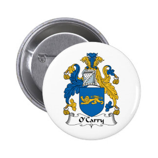 O'Carry Family Crest Pins