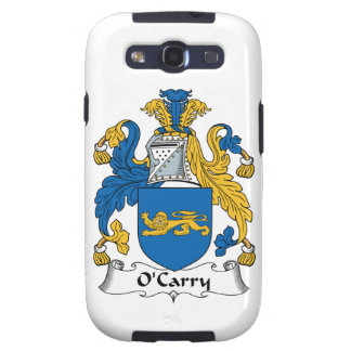 O'Carry Family Crest Samsung Galaxy SIII Covers