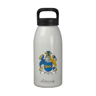 O'Carry Family Crest Water Bottles