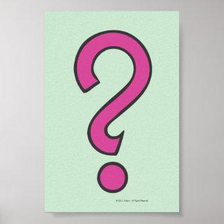 Ocasión - rosa posters