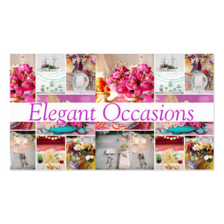 Ocasiones de abastecimiento de las decoraciones tarjetas de visita