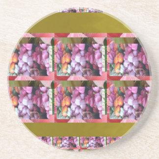 Ocasiones elegantes de los regalos del estampado posavasos personalizados