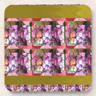 Ocasiones elegantes de los regalos del estampado posavaso