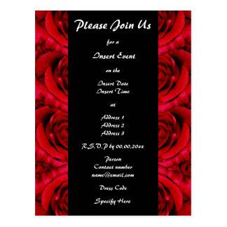 Ocasiones formales de las invitaciones - personali postales