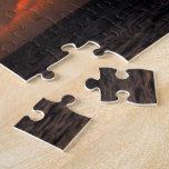 Ocaso pintado puzzle con fotos