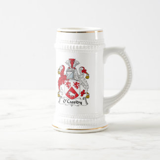 O'Cassidy Family Crest 18 Oz Beer Stein
