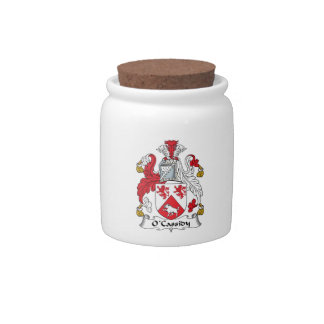 O'Cassidy Family Crest Candy Jar