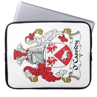 O'Cassidy Family Crest Computer Sleeve
