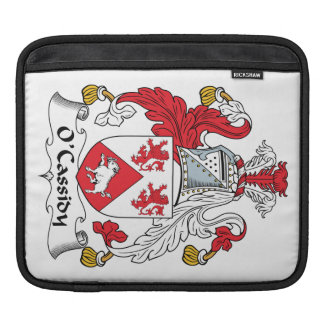 O'Cassidy Family Crest Sleeve For iPads