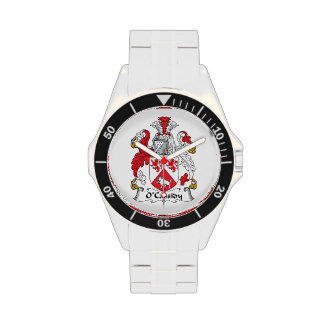 O'Cassidy Family Crest Wristwatches